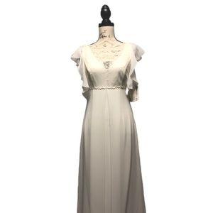 Scott McClintock Long Wedding Dress Lace